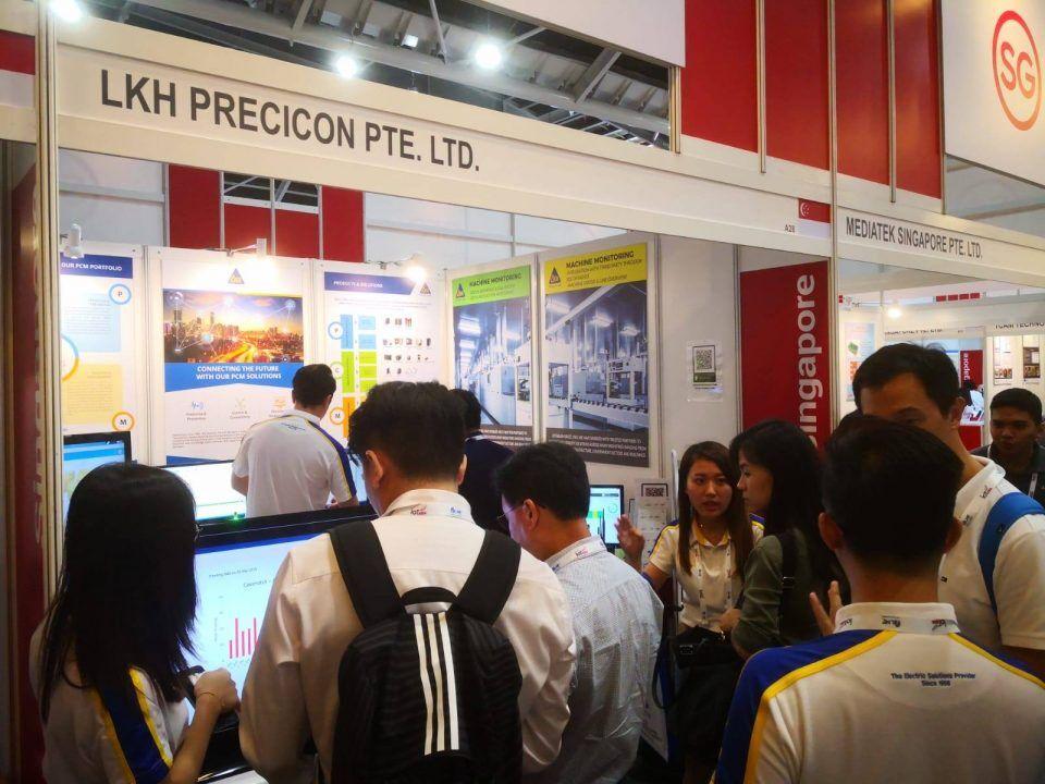 Precicon at IoT Asia 2019