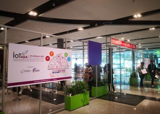 Precicon Event Entrance IoT Asia 2019