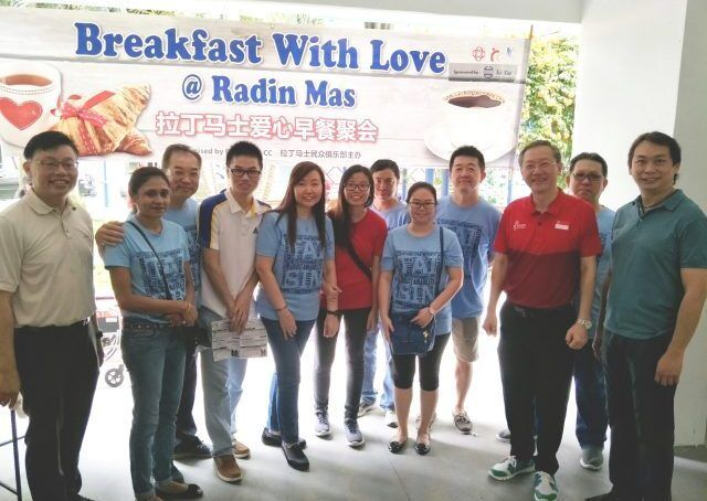 Breakfast With Love @ Radin Mas Presicon Team Picture