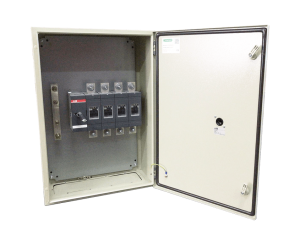 Enclosed isolator enclosure