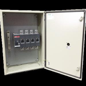 Enclosed isolator enclosure